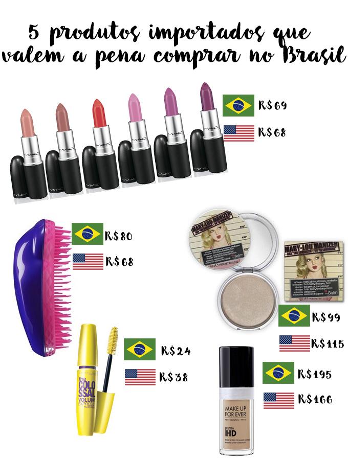 5 produtos importados que valem a pena comprar no Brasil