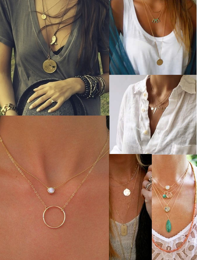 colares delicados