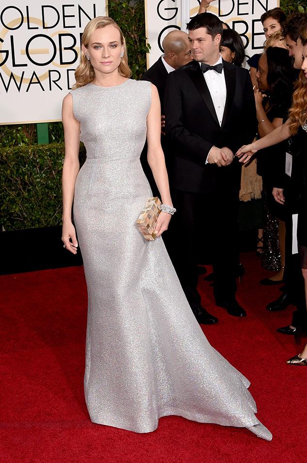 Diane Kruger Globo de Ouro 2015