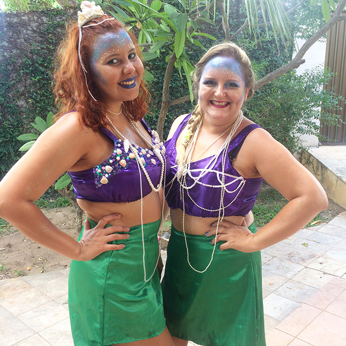 Fantasia Sereia - Carnaval 2016