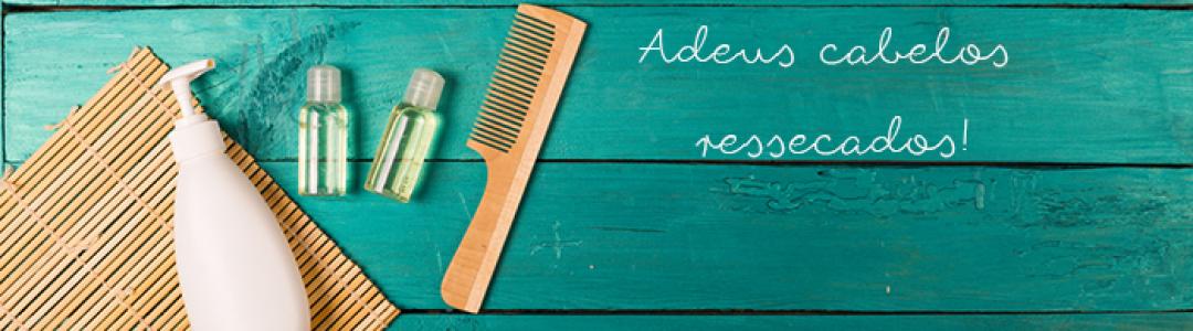 Hidratação com glicerina para os cabelos