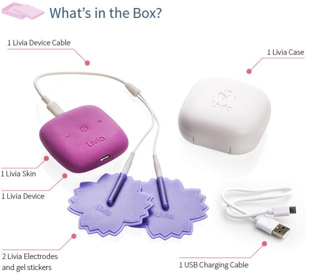 Livia - Gadget que promete acabar com as cólicas menstruais