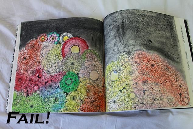 livros de colorir - fail