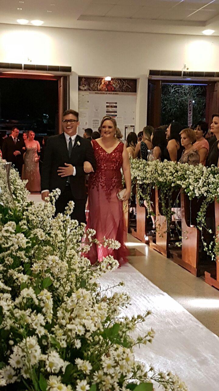 Look do dia - Madrinha de Casamento