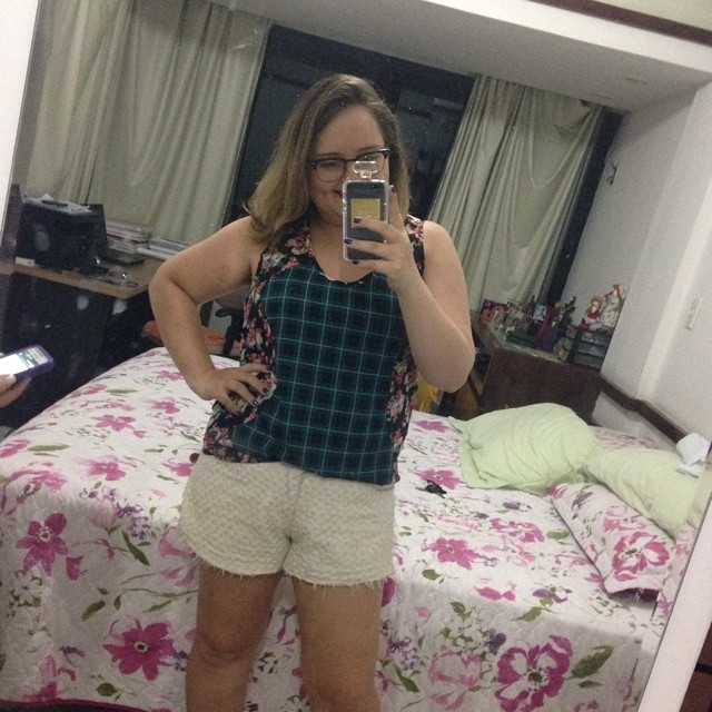 Look do dia no instagram