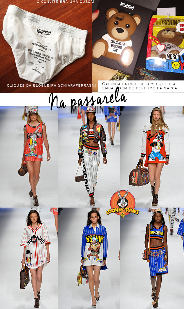 Moschino - Milão Fashion Week 2015