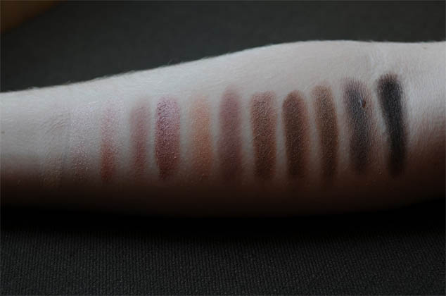 Naked 3 - Urban Decay - Swatches