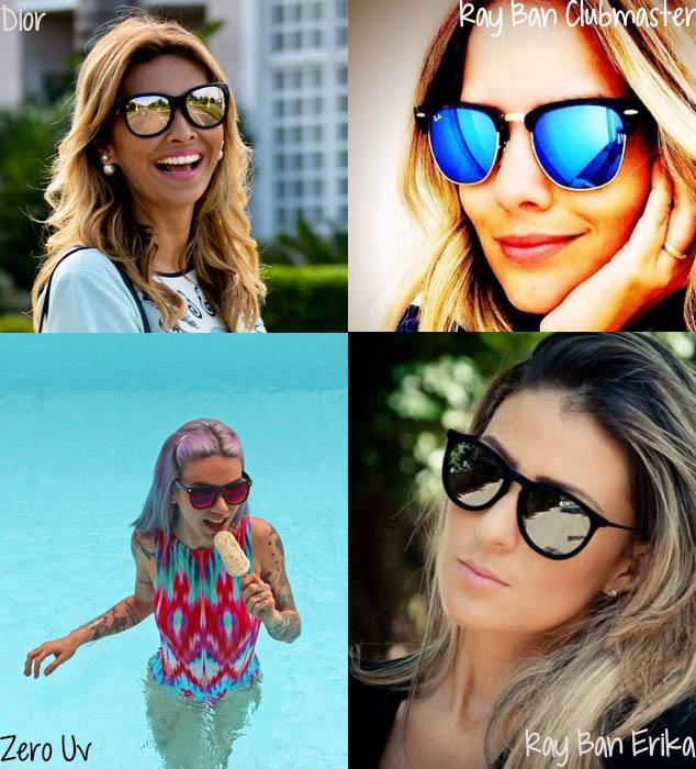 d46686c266635 Obsessão  Óculos espelhados – Chat Feminino