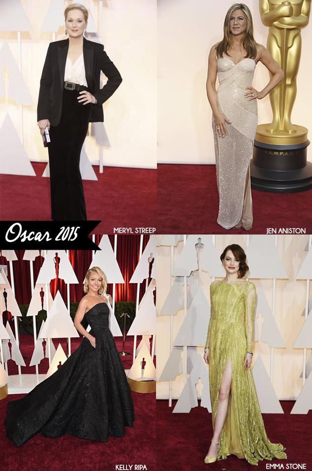 Tapete Vermelho Oscar 2015