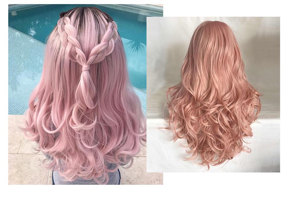 perucas pink
