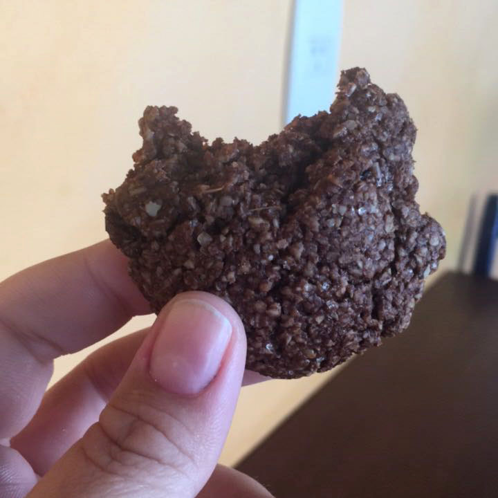 Cookie fit receita