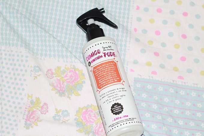 Spray BFF das loiras Comigo Ninguém Pode - Lola Cosmetics
