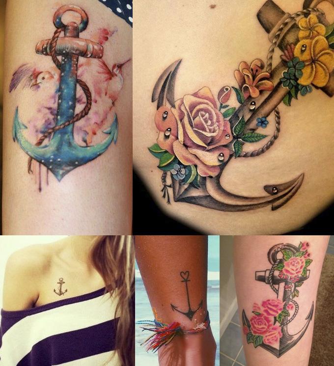 tatuagem - ancora