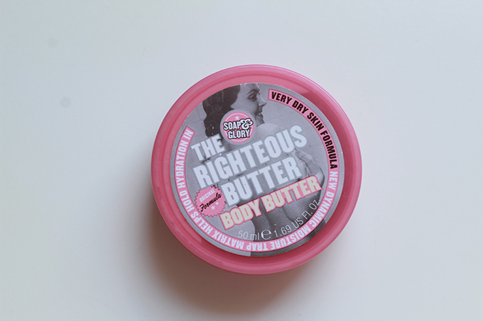 The Righteous Butter - Manteiga hidratante para peles secas - Soap & Glory