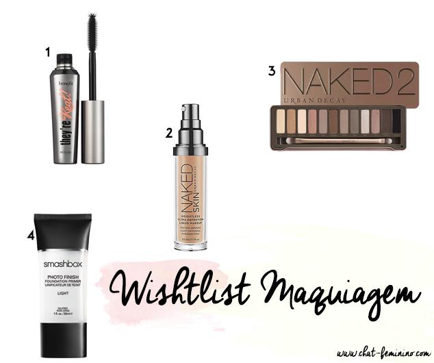 wishlist maquiagem